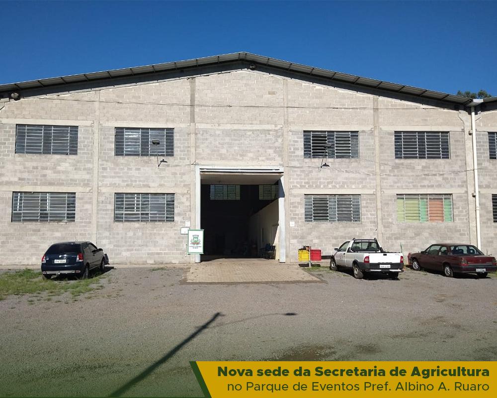 Secretaria Municipal de Agricultura está atendendo ao público em novo endereço
