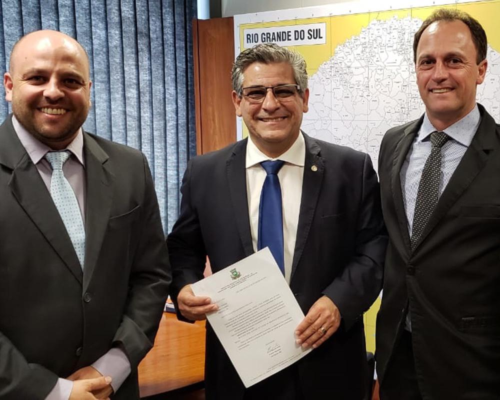 Em busca de verbas para São Marcos, Prefeito Evandro Kuwer cumpriu agenda em Brasília
