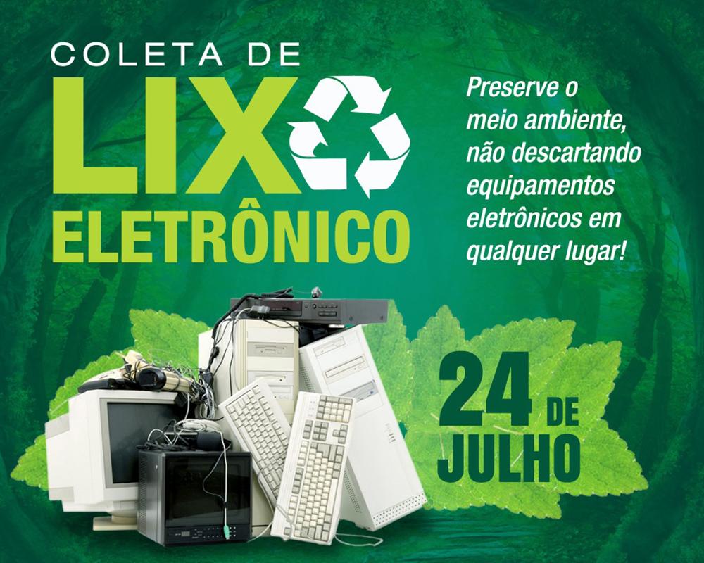 Secretaria do Meio Ambiente realiza mais uma coleta de resíduos eletrônicos