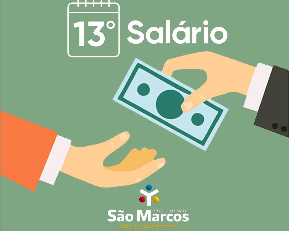 Prefeitura paga amanhã (10) o 13º salário dos servidores