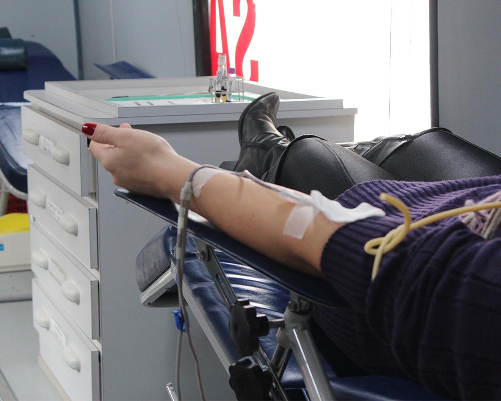 Campanha de Doação de Sangue atingiu a meta