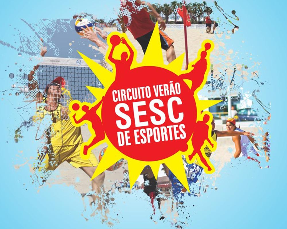 São Marcos recebe mais uma edição do Circuito Verão SESC de Esportes
