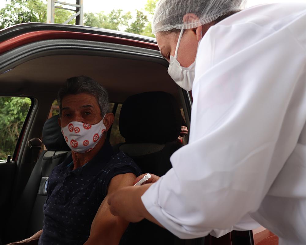 Conforme orientação da Secretaria Estadual de Saúde, São Marcos antecipa a aplicação da 2ª dose da vacina Astrazeneca (Fiocruz)