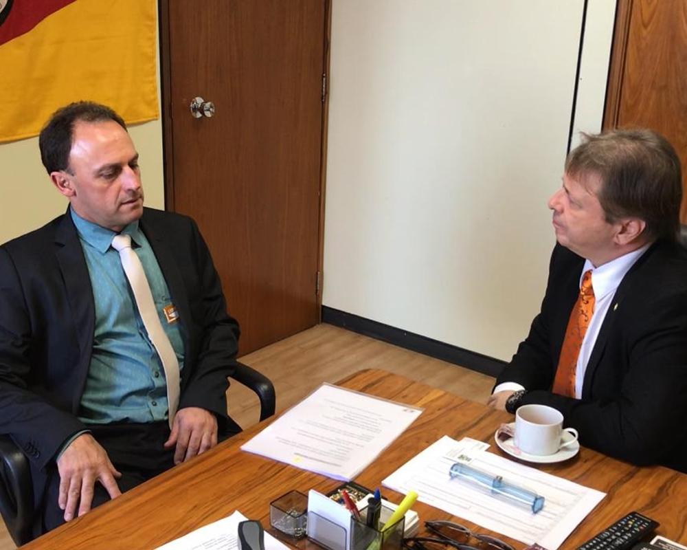 Em Brasília, Kuwer prospecta cerca de 1 milhão de reais em recursos para São Marcos