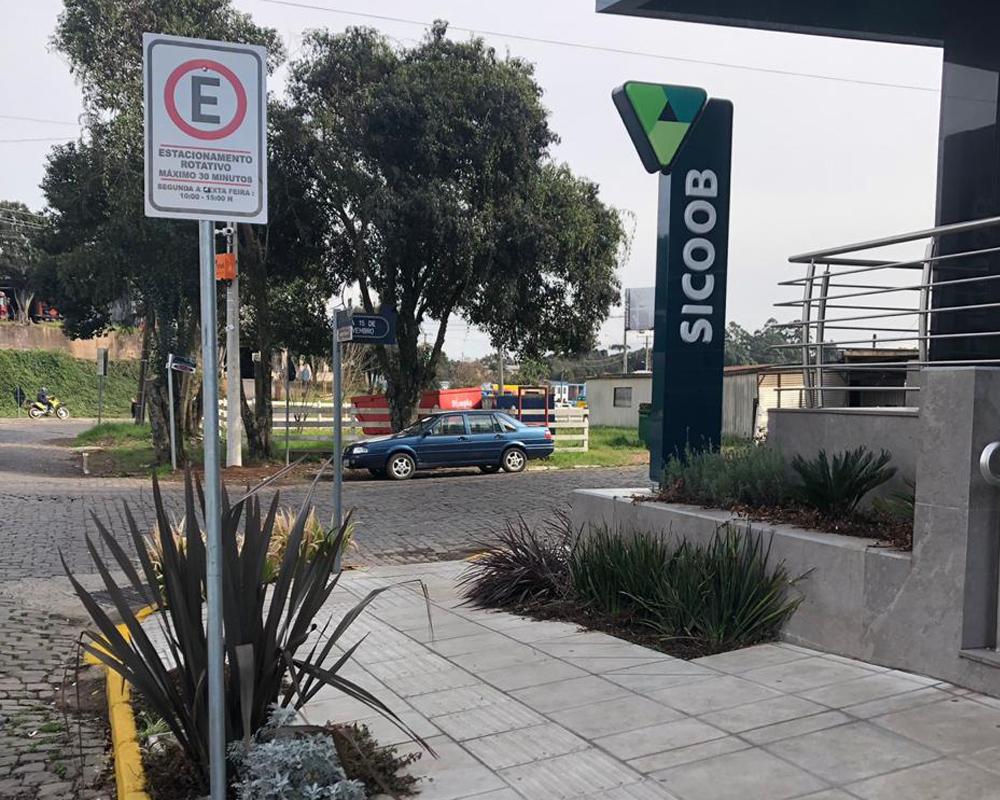 Novas vagas para estacionamento rotativo