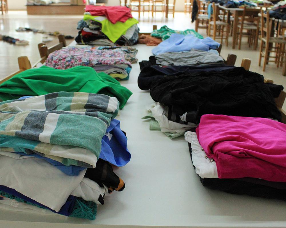 Inicia nesta semana período de doação das roupas arrecadadas na Campanha do Agasalho