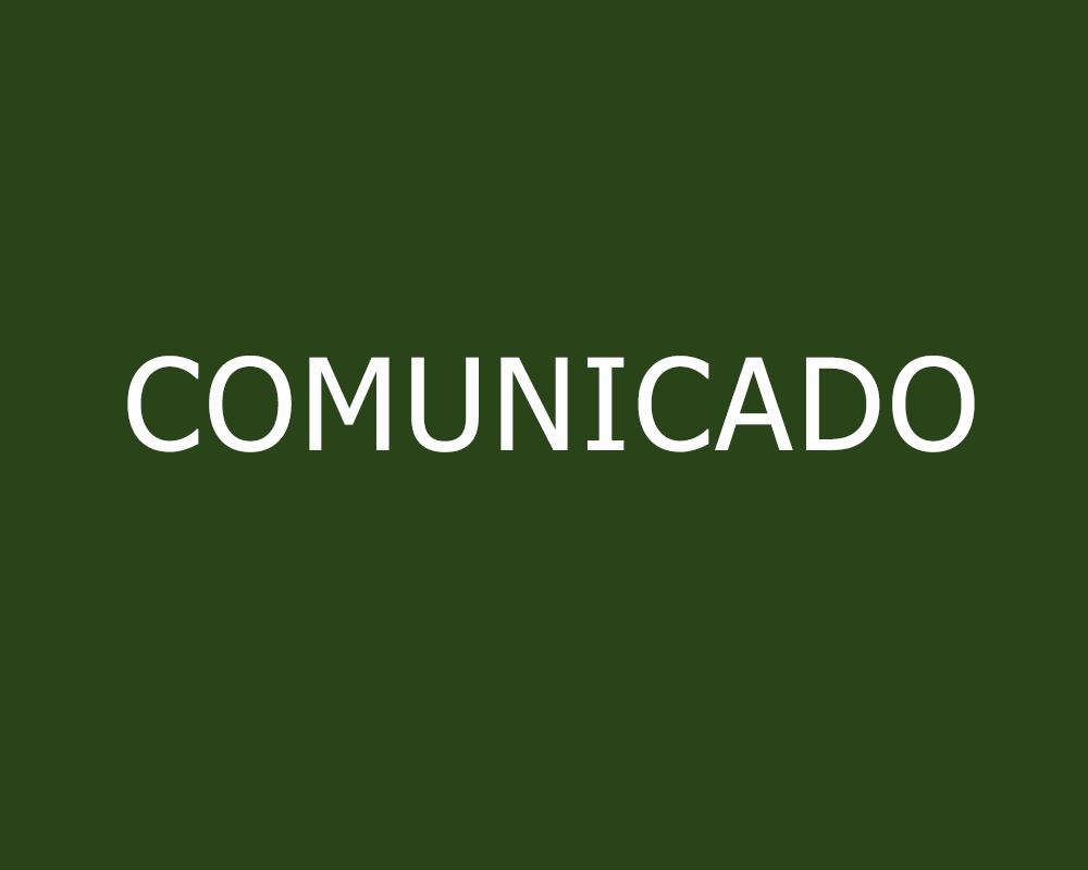 COMUNICADO - Secretaria de Saúde