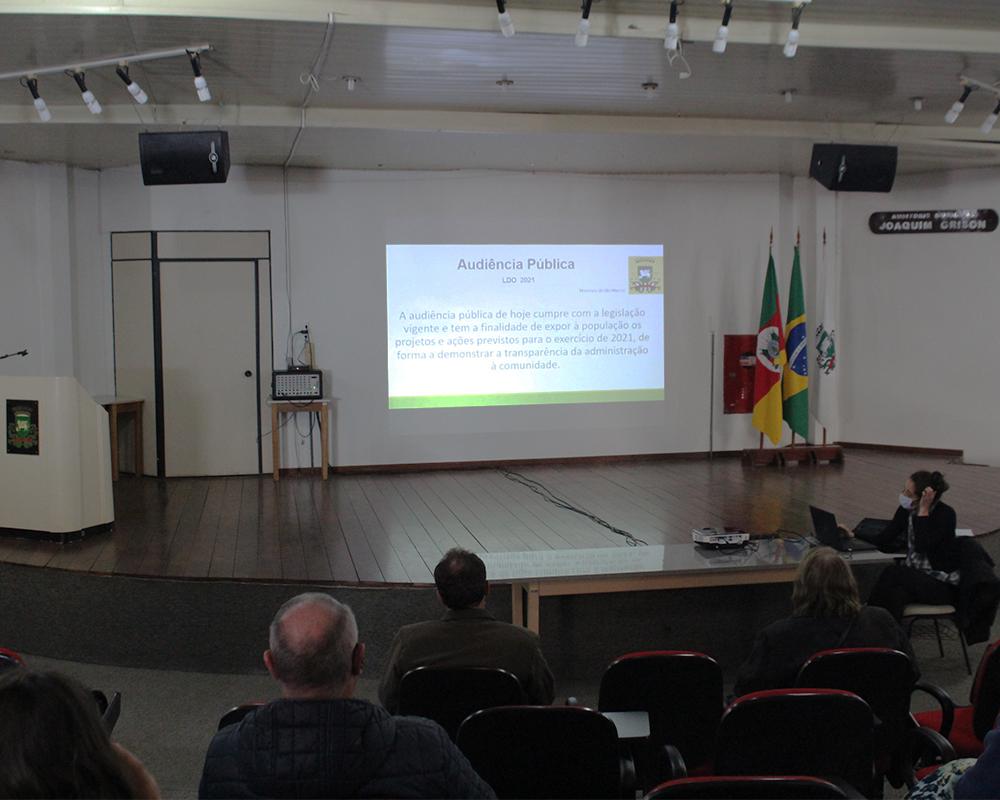 Audiências para apresentação da LDO serão realizadas nesta semana