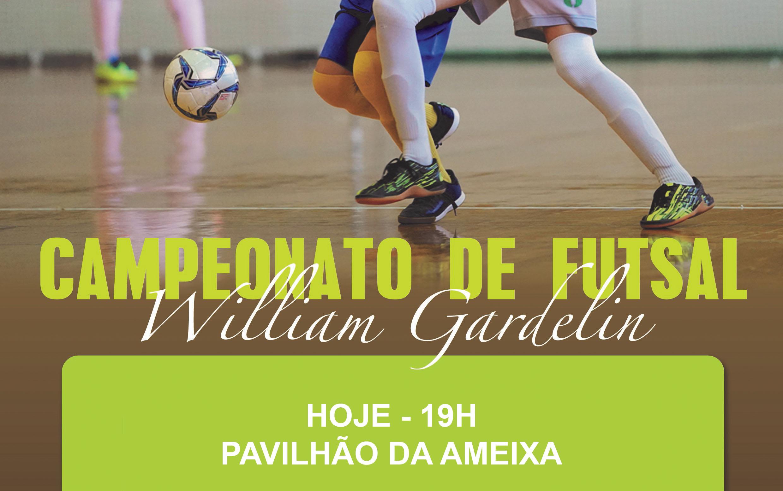 Campeonato Municipal de Futsal inicia esta noite