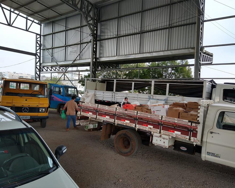 Coleta de embalagens de agrotóxico está sendo realizada hoje e amanhã (15) no Centro de Eventos João Fontana