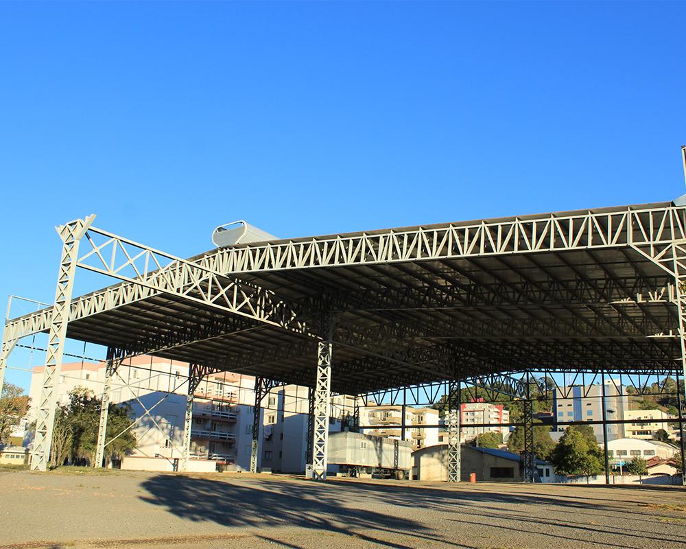 Centro de Eventos terá mais um módulo construído até o final deste ano