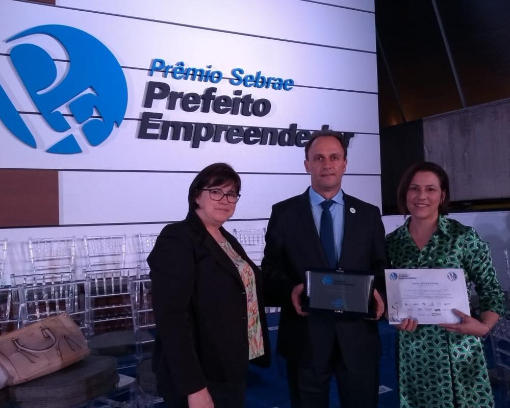 São Marcos foi finalista da etapa nacional do Prêmio SEBRAE Prefeito Empreendedor