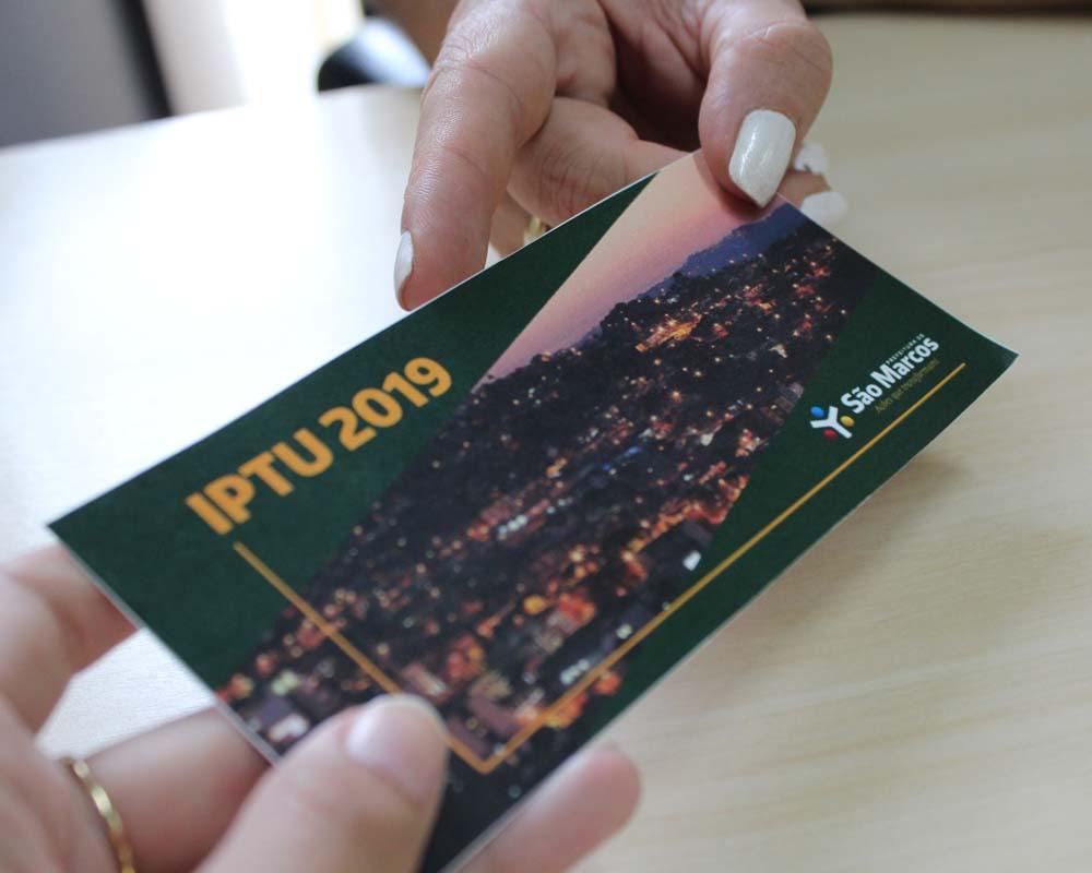 Prazo para pagamento do IPTU pode ser adiado permanentemente para abril em São Marcos