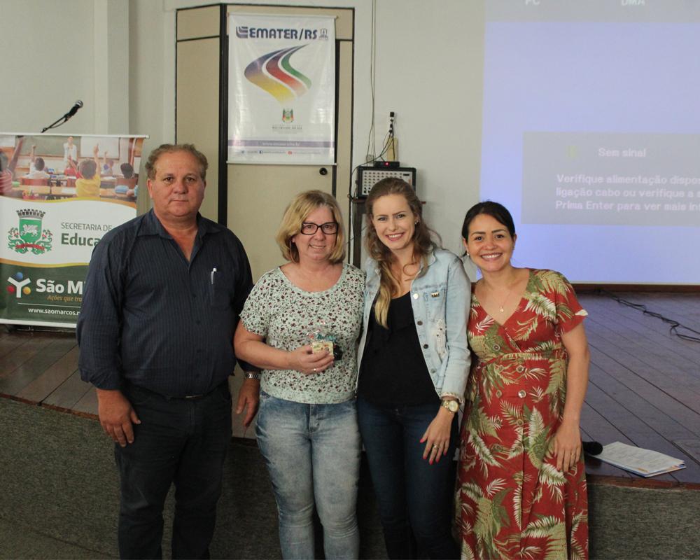 Semana da Alimentação e o Dia da Merendeira Escolar foram comemorados com integração entre as profissionais