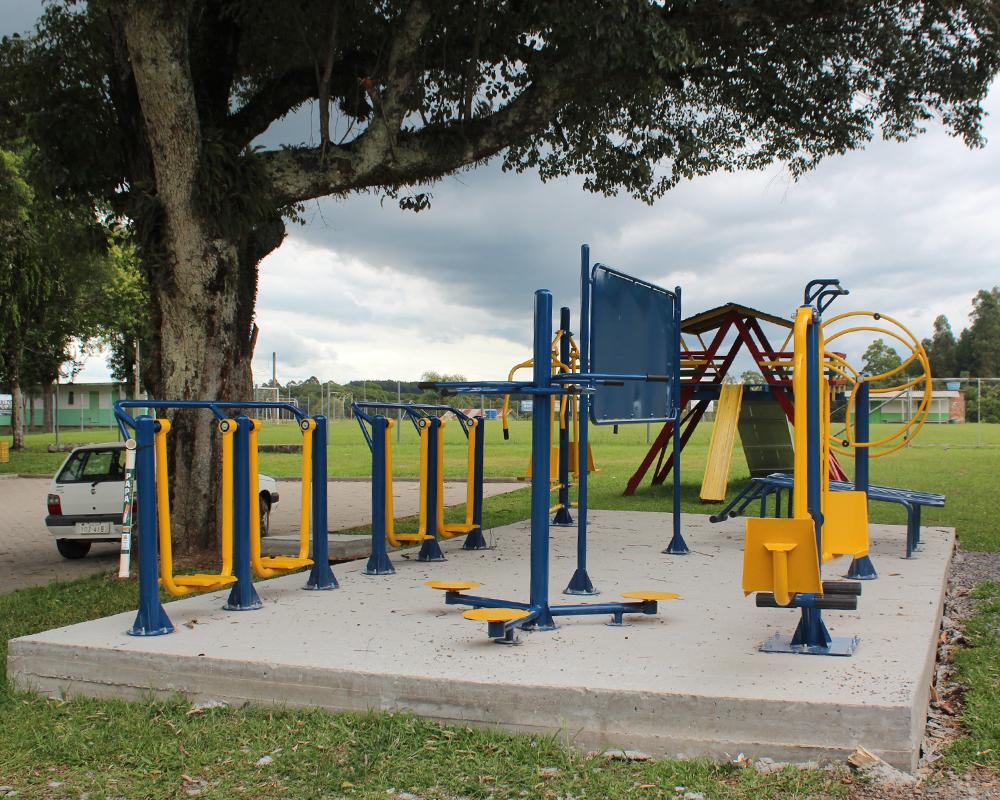 Desde 2018, São Marcos recebeu seis novas academias ao ar livre