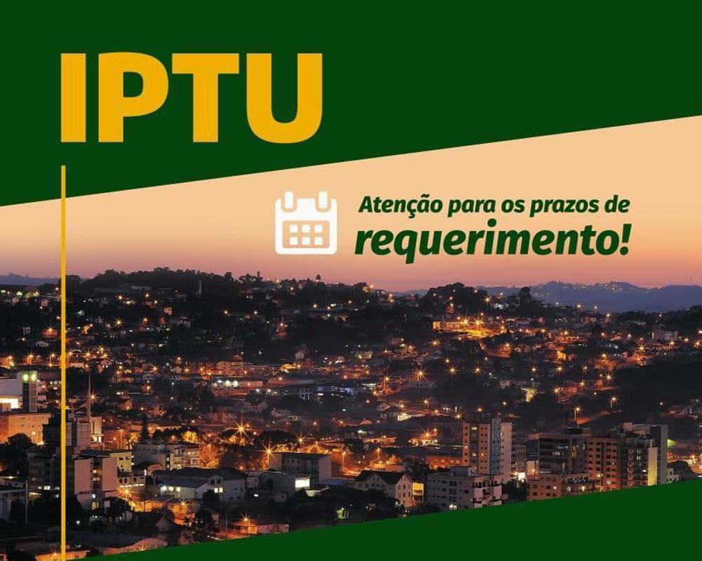 Isenção do pagamento do IPTU deve ser protocolada até dia 18/11