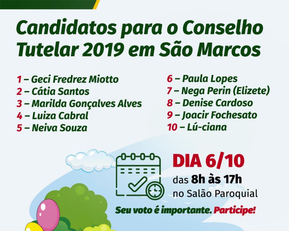 Eleições do Conselho Tutelar serão no dia 06 de outubro