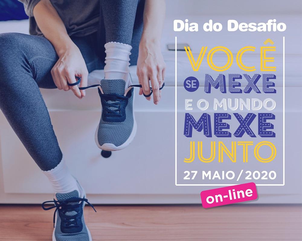 Dia do Desafio 2020 será online
