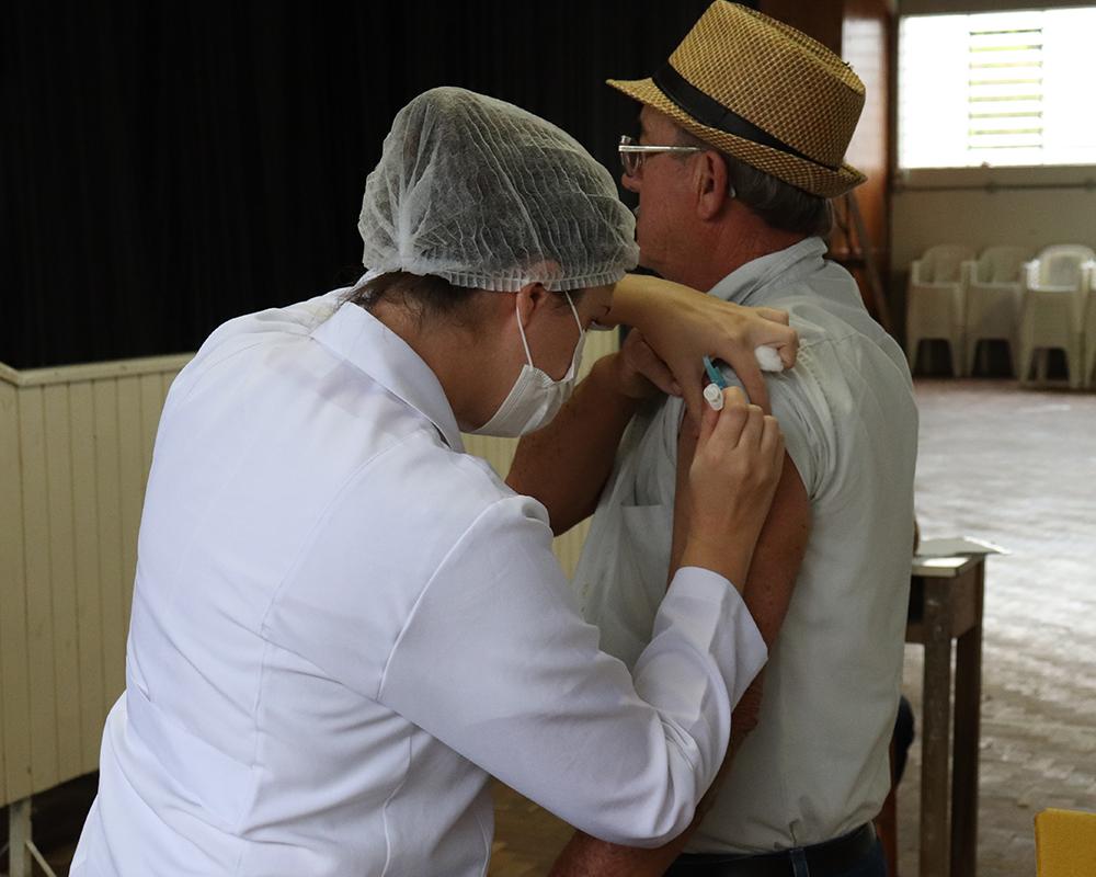 Vacinação contra a gripe no interior ocorre amanhã (04)