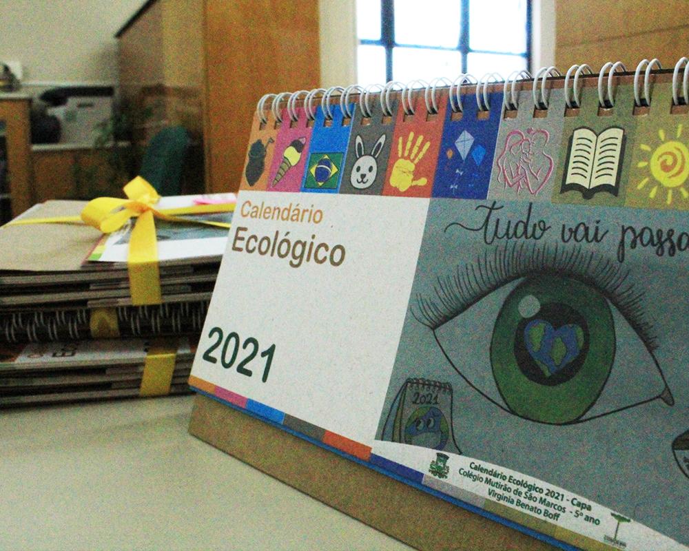 Desenhos para o Calendário Ecológico 2022 podem ser enviados à SME até 27 de agosto