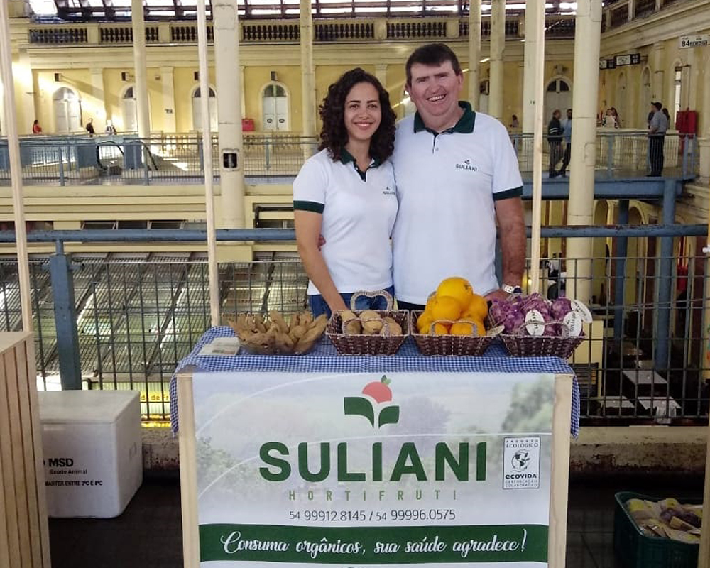 Agricultores são-marquenses expõem produtos orgânicos em encontro gastronômico na Capital
