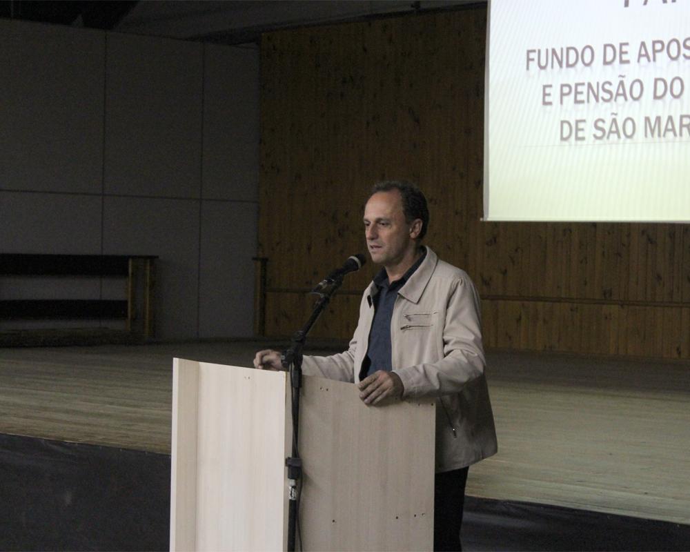 Servidores participaram de palestra sobre a Reforma da Previdência