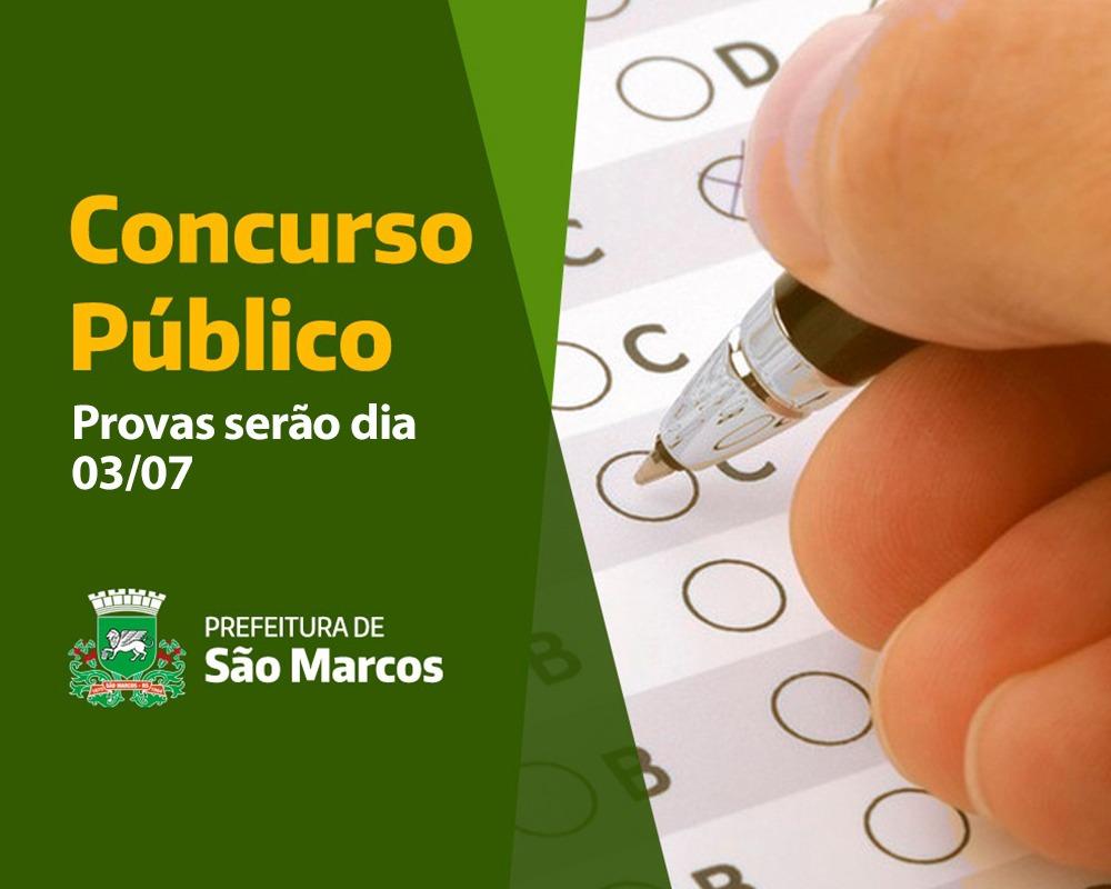 Concurso Público Municipal que estava suspenso desde o ano passado será realizado em 03 de julho