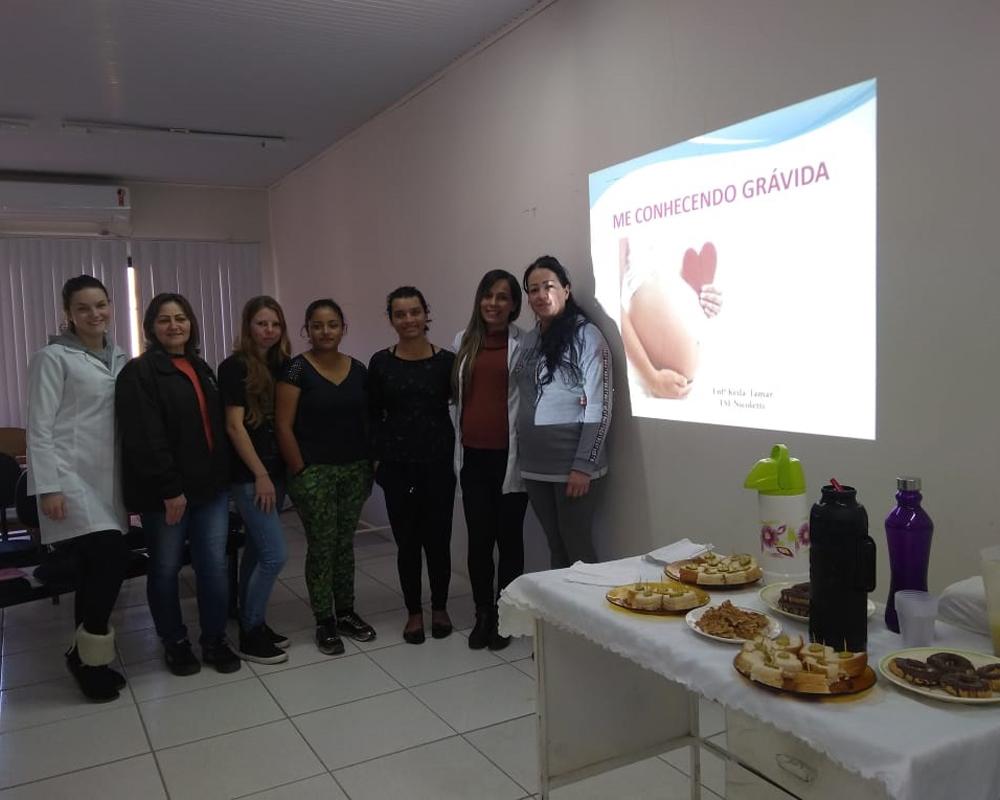 Secretaria da saúde inicia grupo de orientações durante o pré-natal no Bairro Industrial