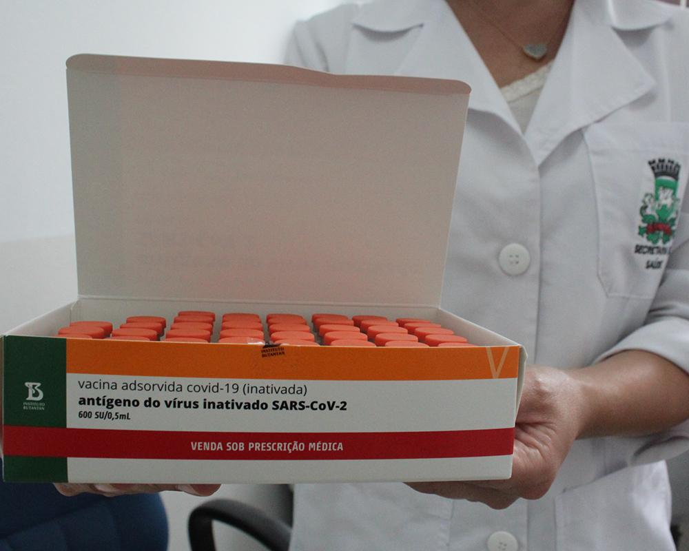 São Marcos deve receber nesta segunda-feira (21) cerca de 200 doses da vacina Coronavac