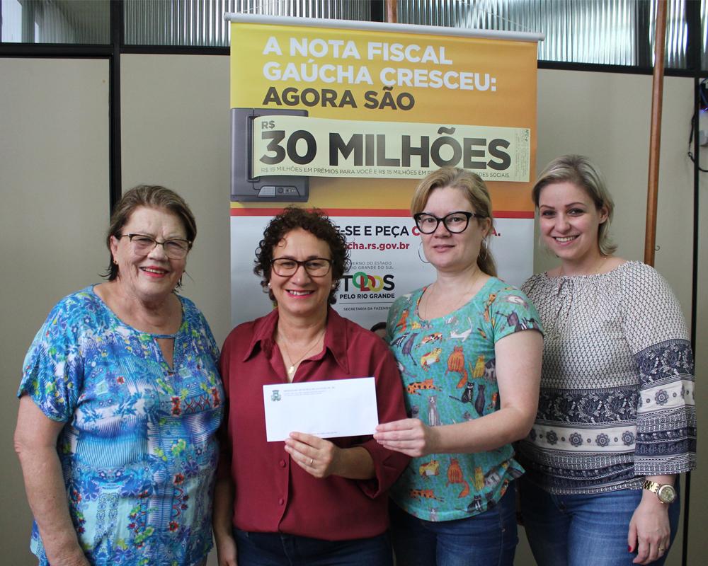 Mais uma vencedora do Programa Nota Fiscal Gaúcha
