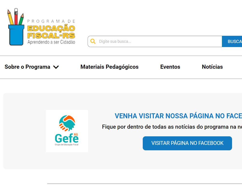 Governo do Estado disponibiliza exclusivamente conteúdos sobre Educação Fiscal em nova plataforma digital