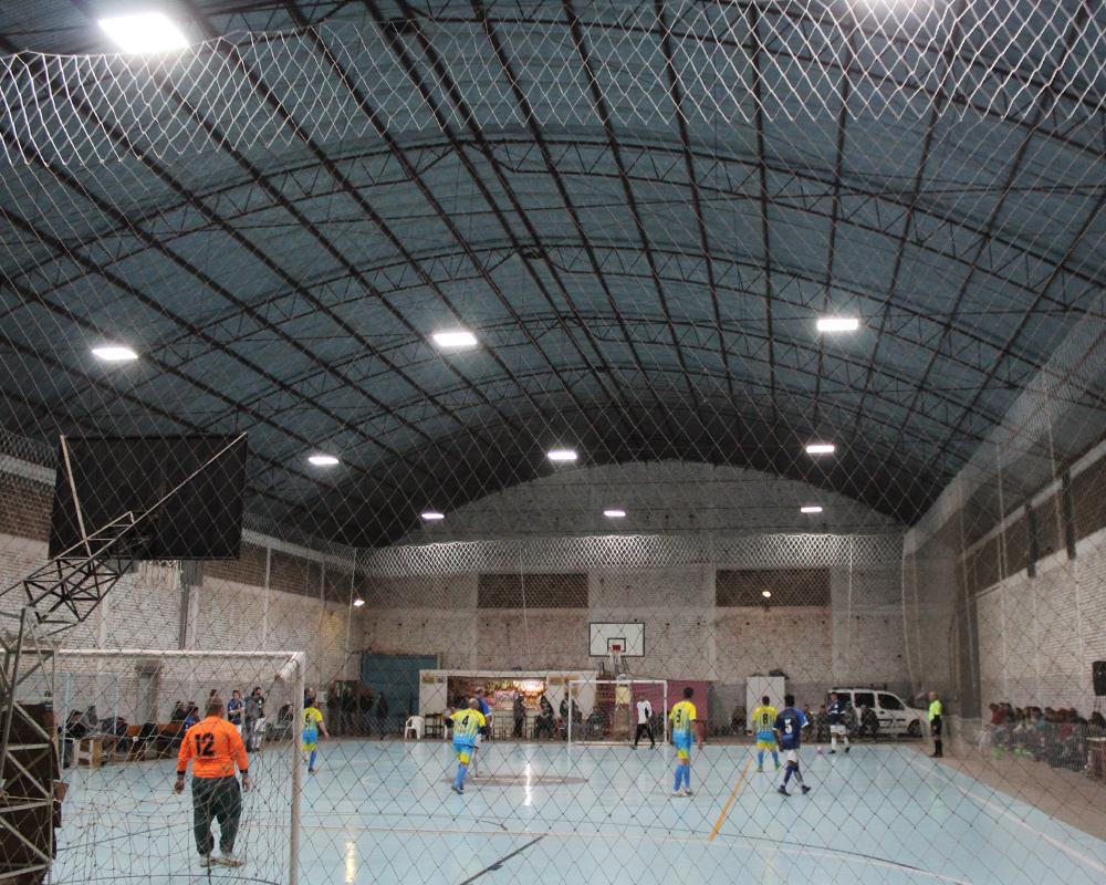 Iluminação do Pavilhão de Esportes Manoel Ramos de Castilhos foi substituída