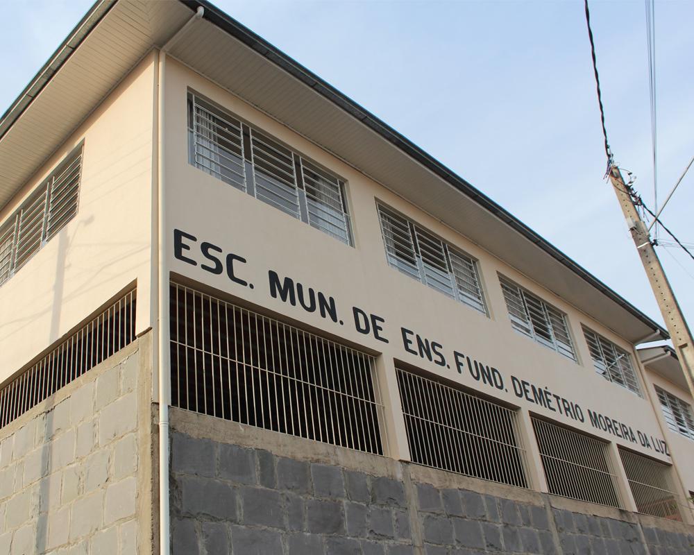 Prefeitura revitaliza EMEF Demétrio Moreira da Luz