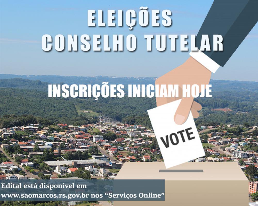 Processo de eleição dos membros do Conselho Tutelar inicia hoje (05)