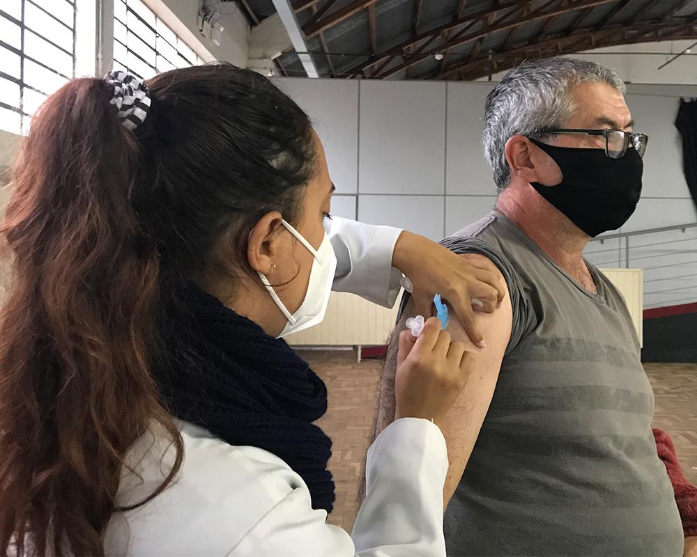 Pessoas com 52 anos poderão se vacinar contra a Covid-19 amanhã (25) em São Marcos