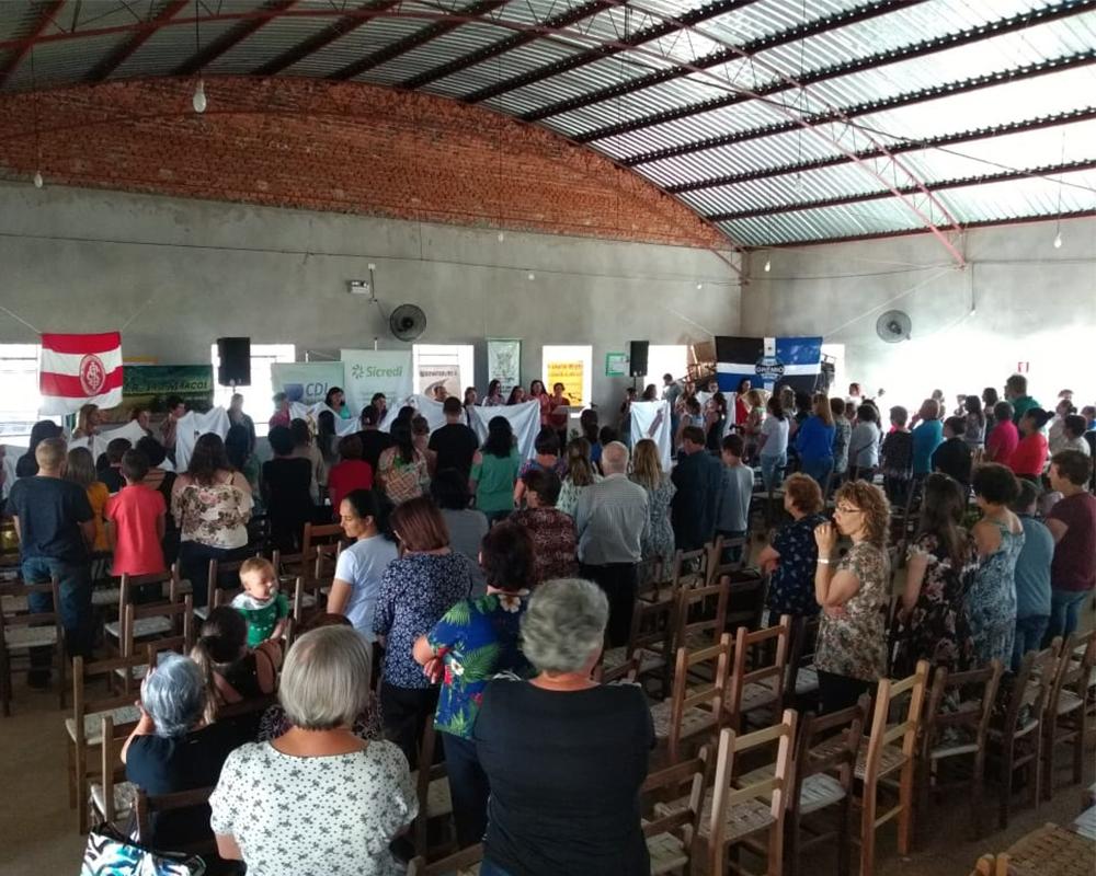 7º Encontro de Integração dos Grupos de Mulheres do Município reuniu mais de 200 pessoas