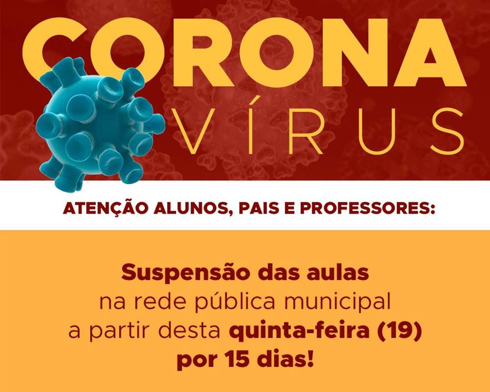 Prefeitura de São Marcos cancela aulas e eventos municipais