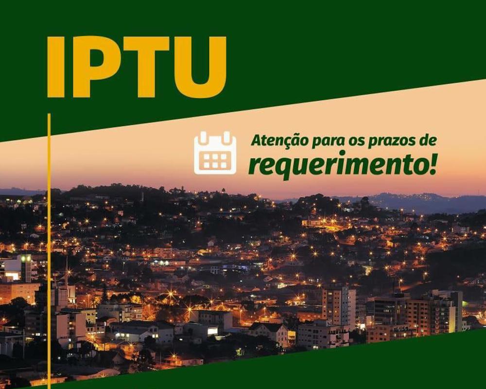 Prazo para requerimento de desconto no valor venal do IPTU vai até 30/10