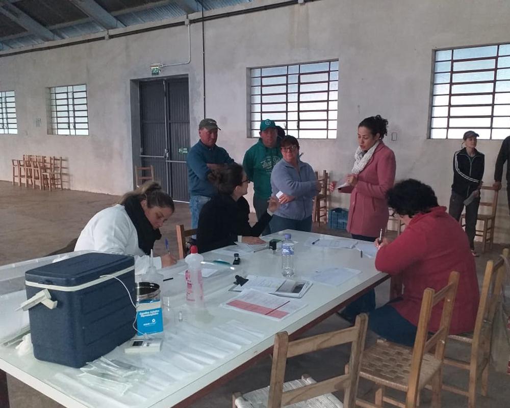 Mais de 800 pessoas participaram do Censo da Febre Amarela no interior