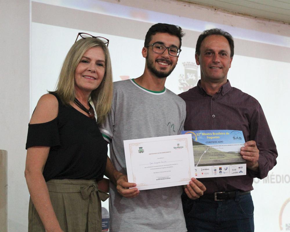 Maranhão recebeu premiação em ato solene promovido pela Secretaria de Educação