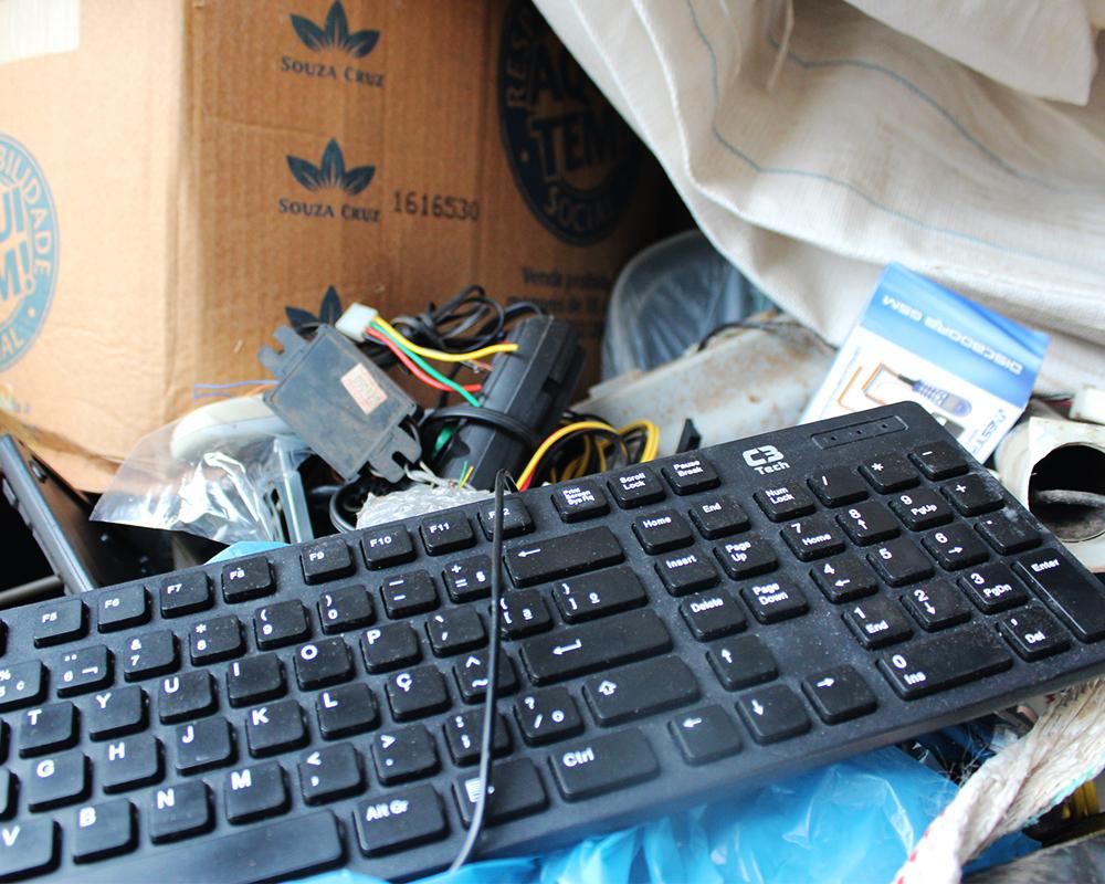 Última Coleta de Resíduos Eletrônicos do ano será no próximo dia 02/12