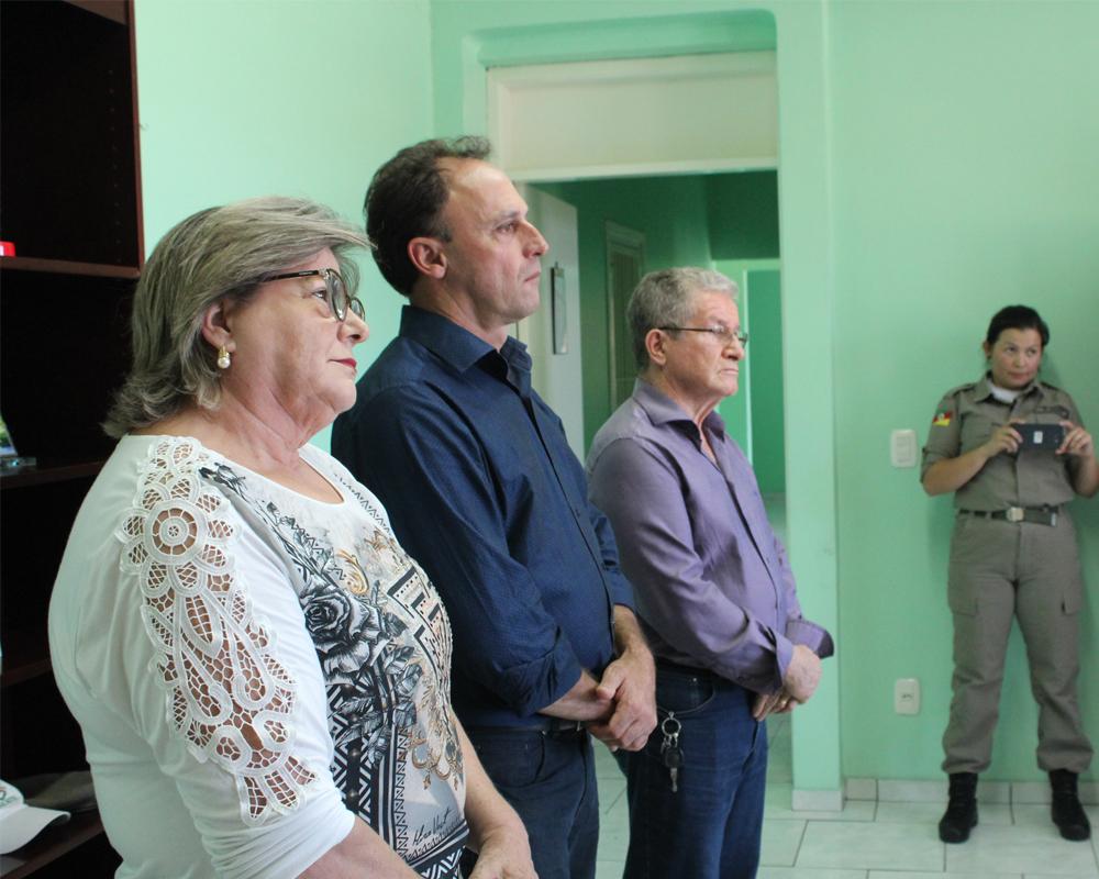 BM de São Marcos recebe doação de EPI de entidades são-marquenses